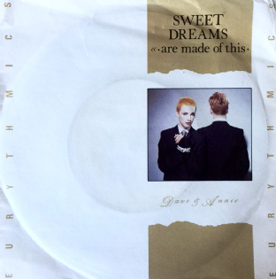 "Eurythmics ‎- Sweet Dreams (Are Made Of This) (7"") (G-VG/VG-)"